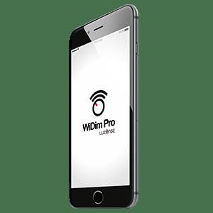 WiDim Pro på telefon